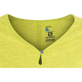 Salomon Ellipse Scoop SS Shirt Women sulphur spring